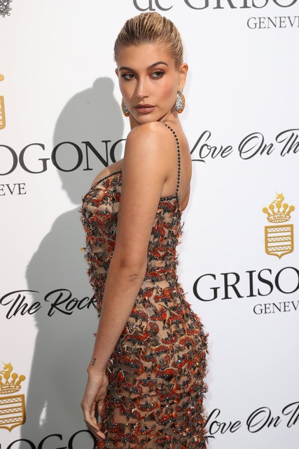 Hailey Baldwin Arrives at de Grisogono Love On The Rocks Party, Eden Roc, 23rd May 2017