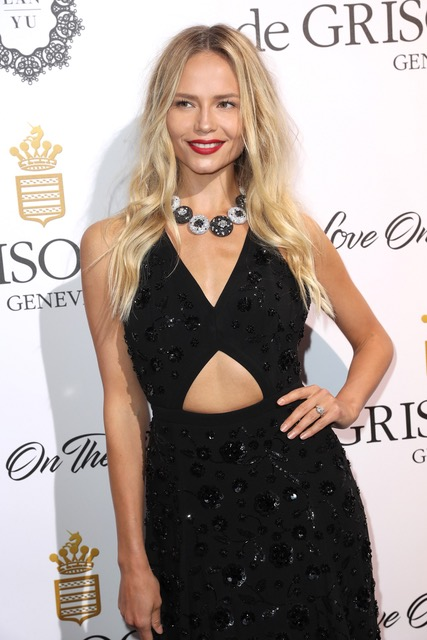 Natasha Poly Arrives at de Grisogono Love On The Rocks Party, Eden Roc, 23rd May 2017