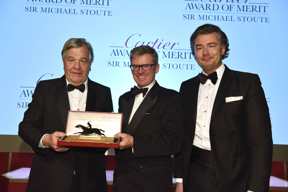 Sir Michael Stoute, Laurent Feniou Cartier Award of Merit
