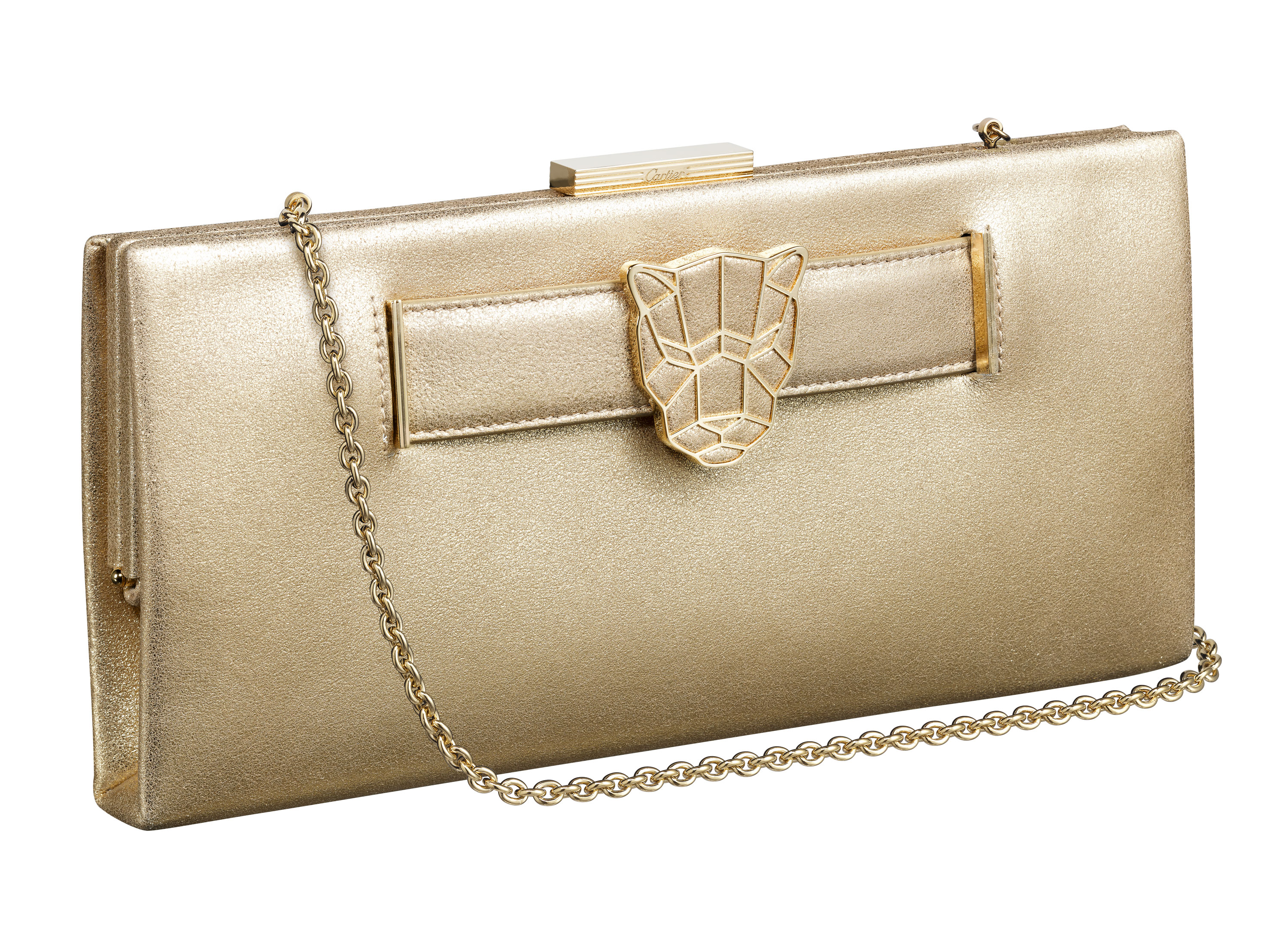 Pochette Panthere Gold chain