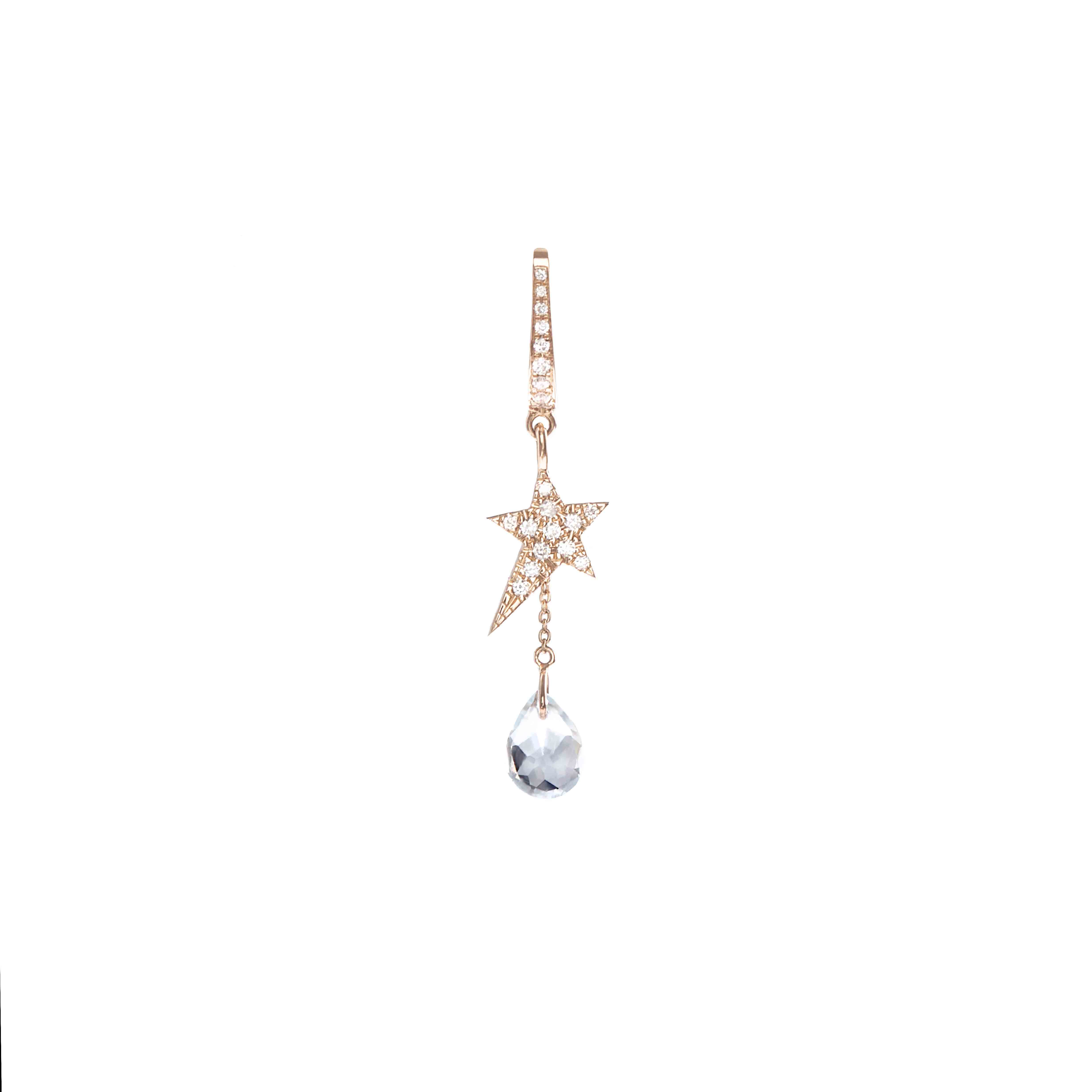 Cosmos drop earring