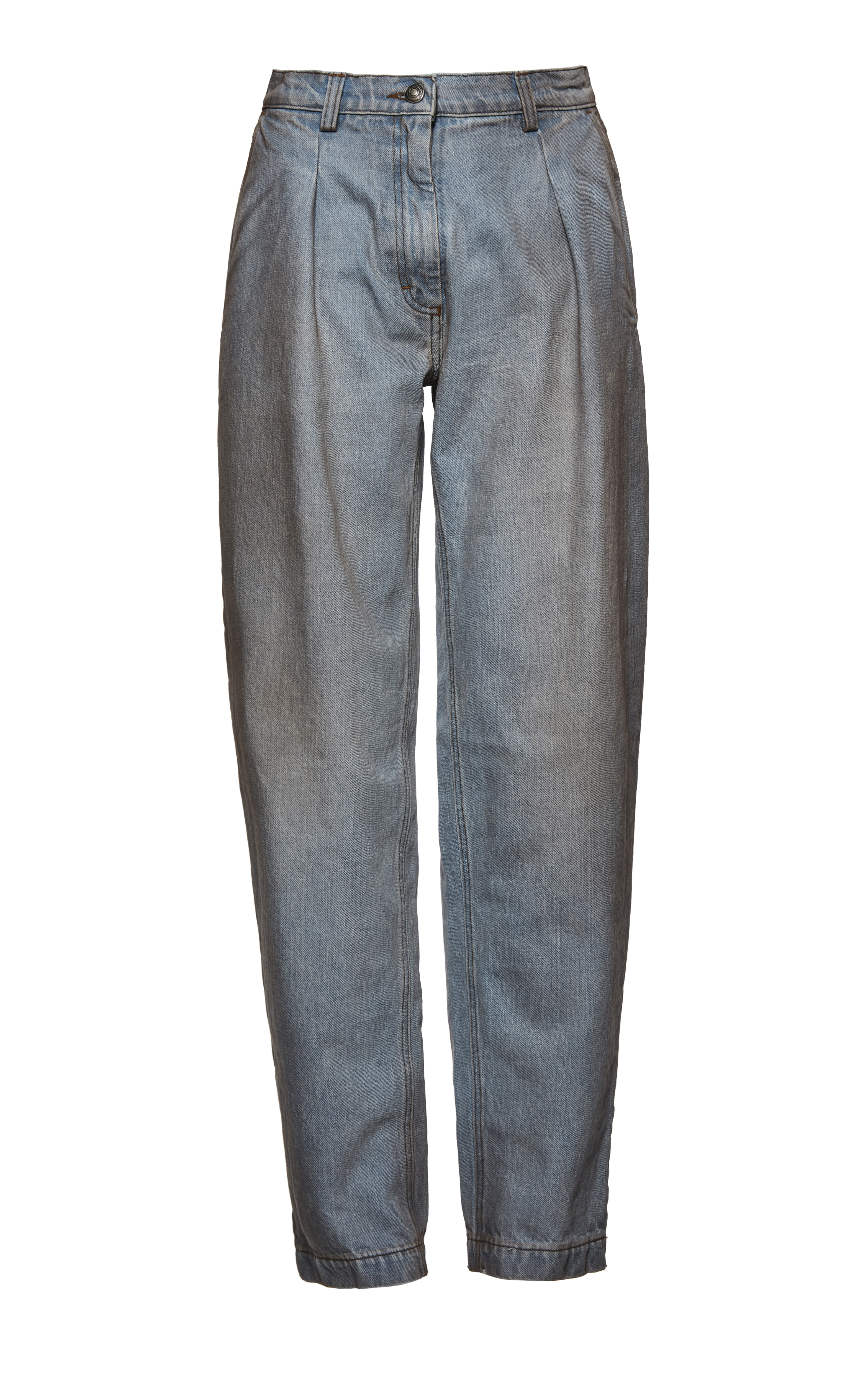 Magda Butrm's Huntsville light blue jeans