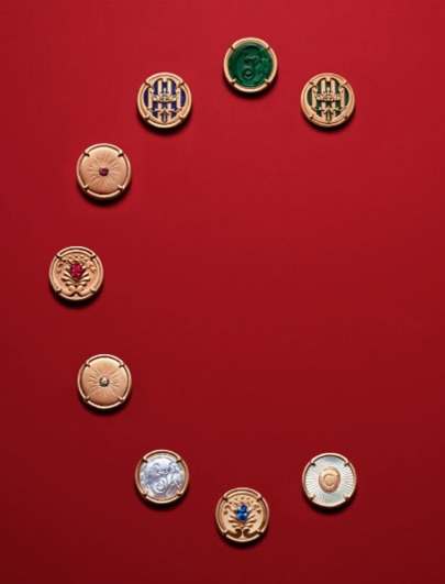 New in: Maison Chaumet's wearable medallion necklace designs