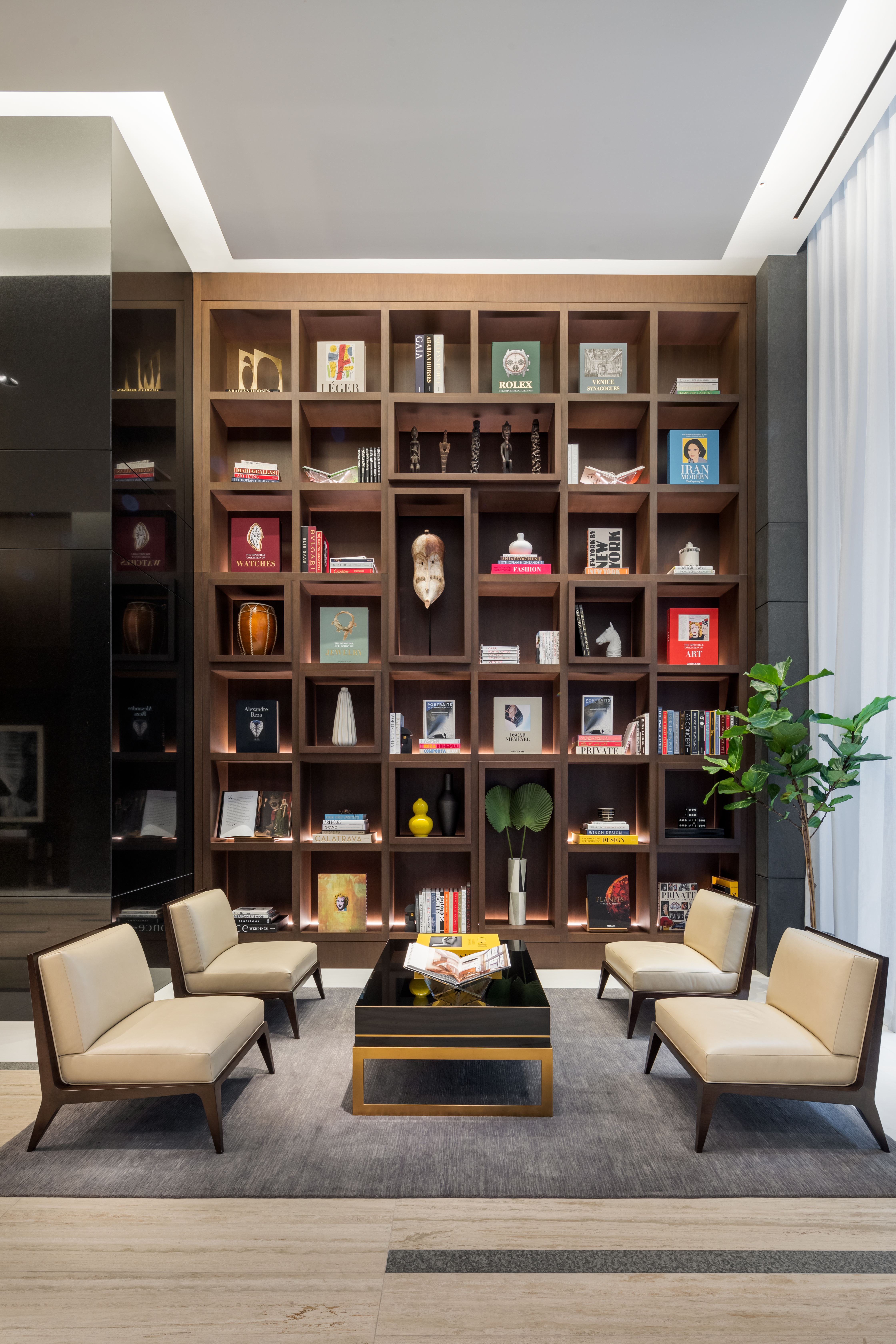 Show and tell: Haute storage comes to the fore in luxe interiors