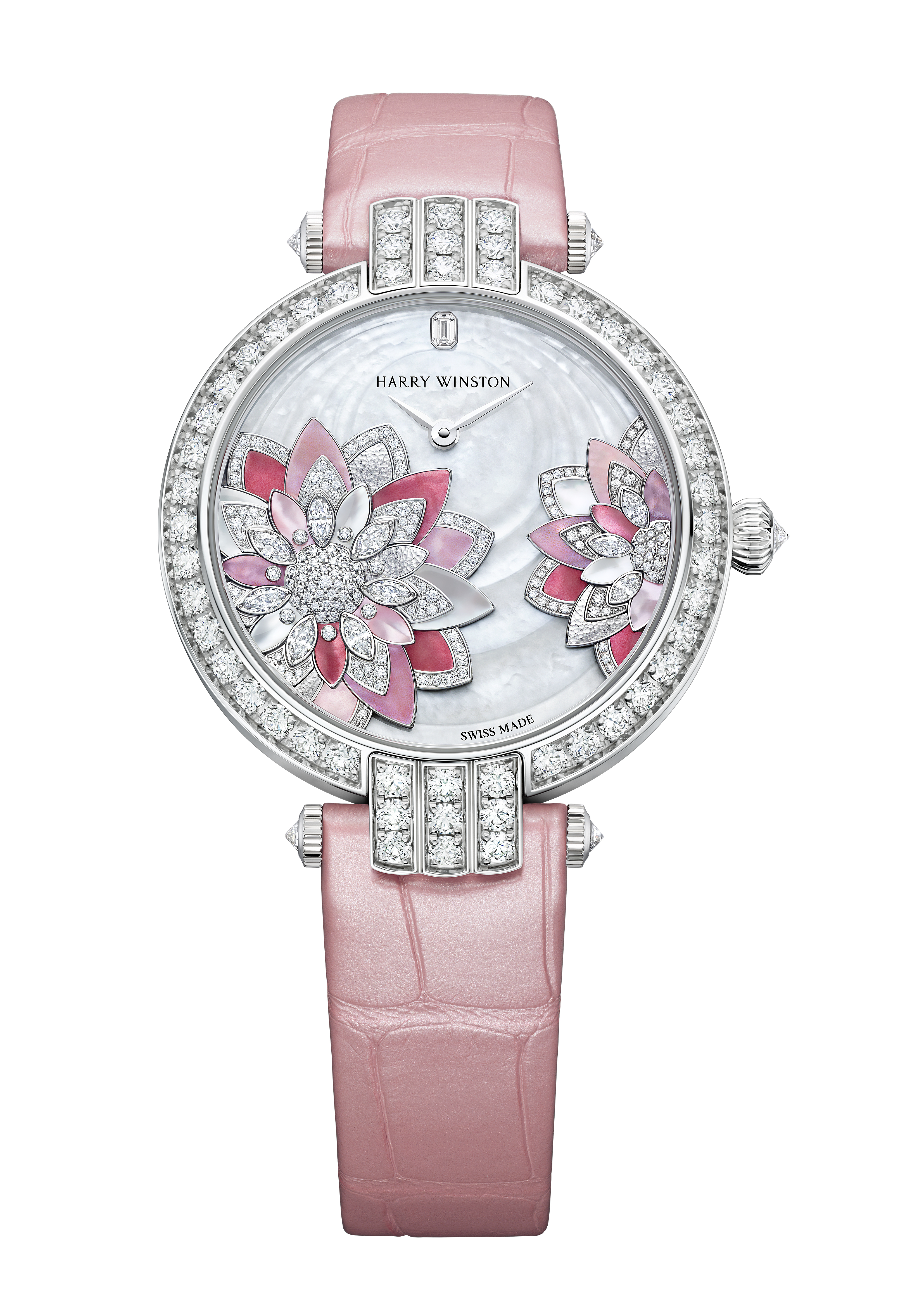 Harry Winston's new Premier Lotus Automatic 36mm timepiece