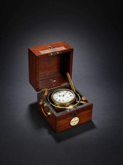 An important 19th-century marine chronometer by William Frodsham, used on HMS Beagle, sold at auction for £74,500 in 2014
