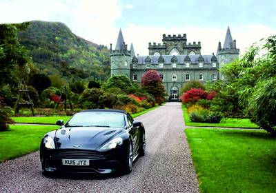 The stunning landscapes of Scotland in an Aston Martin