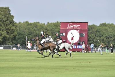 Cartier Queen's Cup at Guard's Polo club, Windsor
