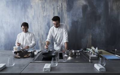 chefs at Aulis