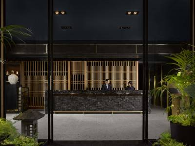 Nobu Hotel Shoreditch Lobby