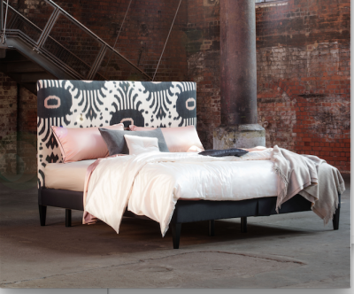 A Savoir Bed designed by Madeline Weirnrib