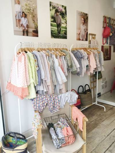 Luxe childrenswear pop-up in Notting Hill