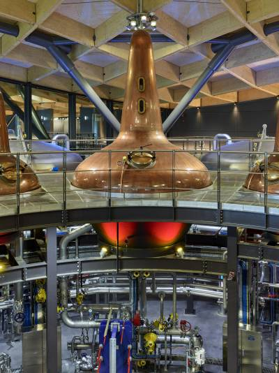 Macallan's new Speyside distillery