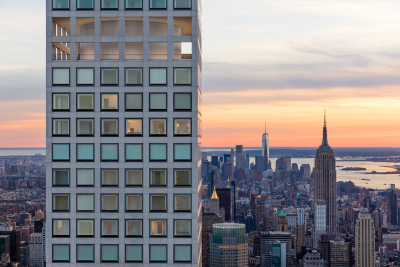 432 Park Avenue in New York's FiDi