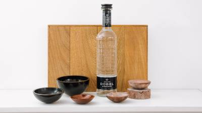 Frida Escobedo creates tequila vessels for Maestro Dobel