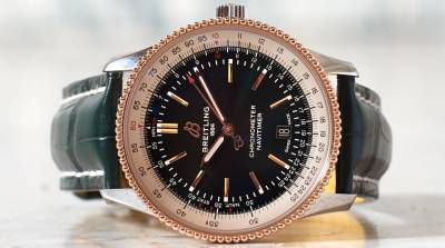 Breitling launches revamped pilot's watch at Harrods
