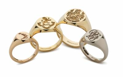 Handmade: Modern-day signet rings by Hancocks