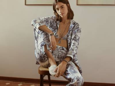 Soft launch: Dior reveals debut loungewear range