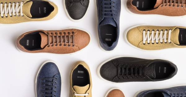 Hugo Boss launches sustainable sneakers