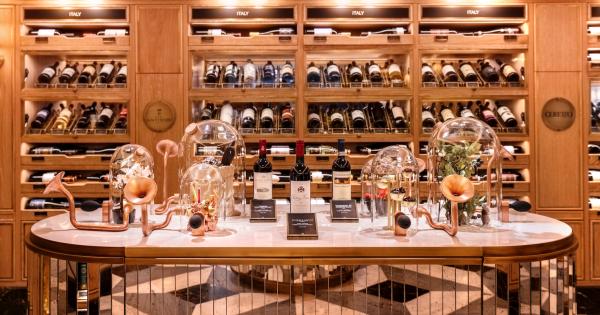 In good taste: Harrods opens fine wine & spirits rooms