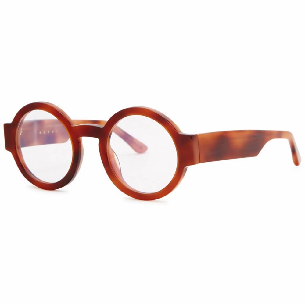 173e2651fe Marni brown round frames available at Harvey Nichols