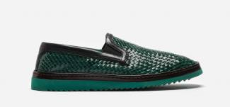 Dolce & Gabbana Slip-on in woven leather, £575