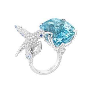 Hopi, the humming bird ring by Boucheron