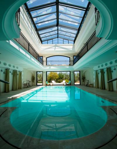 Thalasso pool, Masseria San Domenico