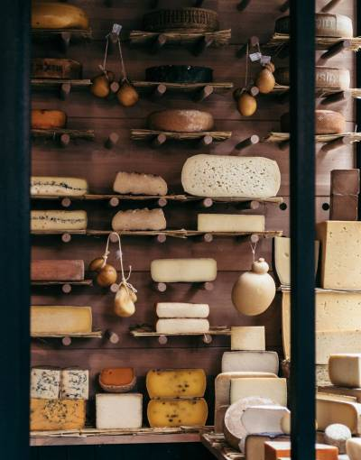 Cheeseroom at La Fromagerie